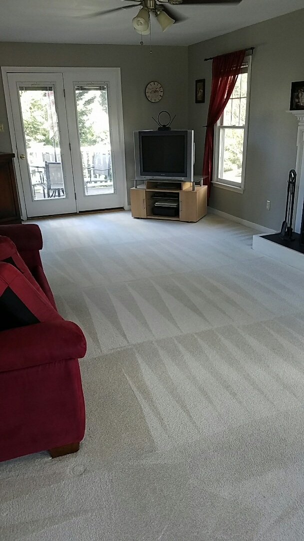 And another family of 5 who only trust their families health and cleaning with Chem Dry.  This carpet has cleaned up great yet again!