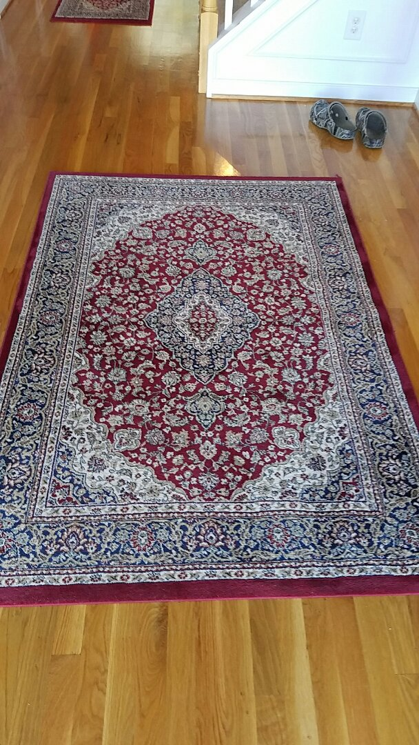 Glen Allen, VA - Yes we can clean Oriental rugs in your home, yes they look beautiful when we are finished and no it doesn't damage your wood floors. Our patented technology is designed just for this.