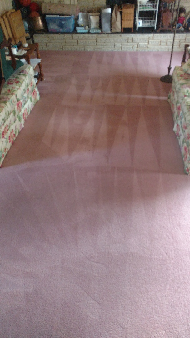 Richmond, VA - Living room filled with food and drink spills is new again!