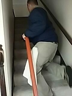 Richmond, VA - Yeah we do stairs too