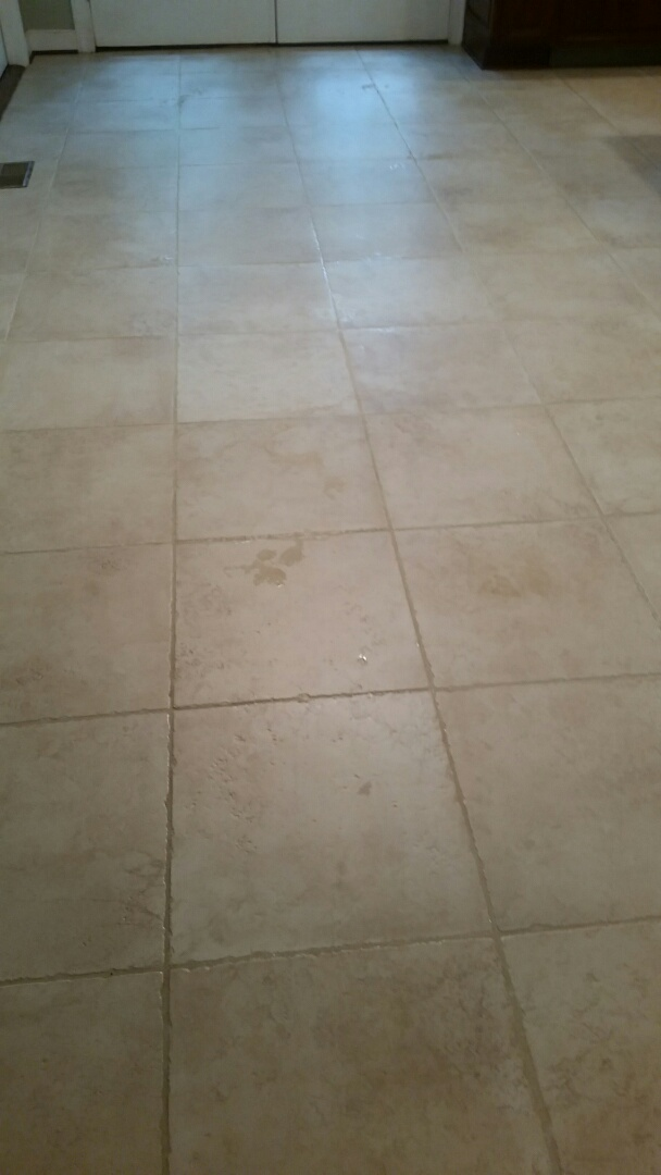 Richmond, VA - This tile and grout cleaned up like new!