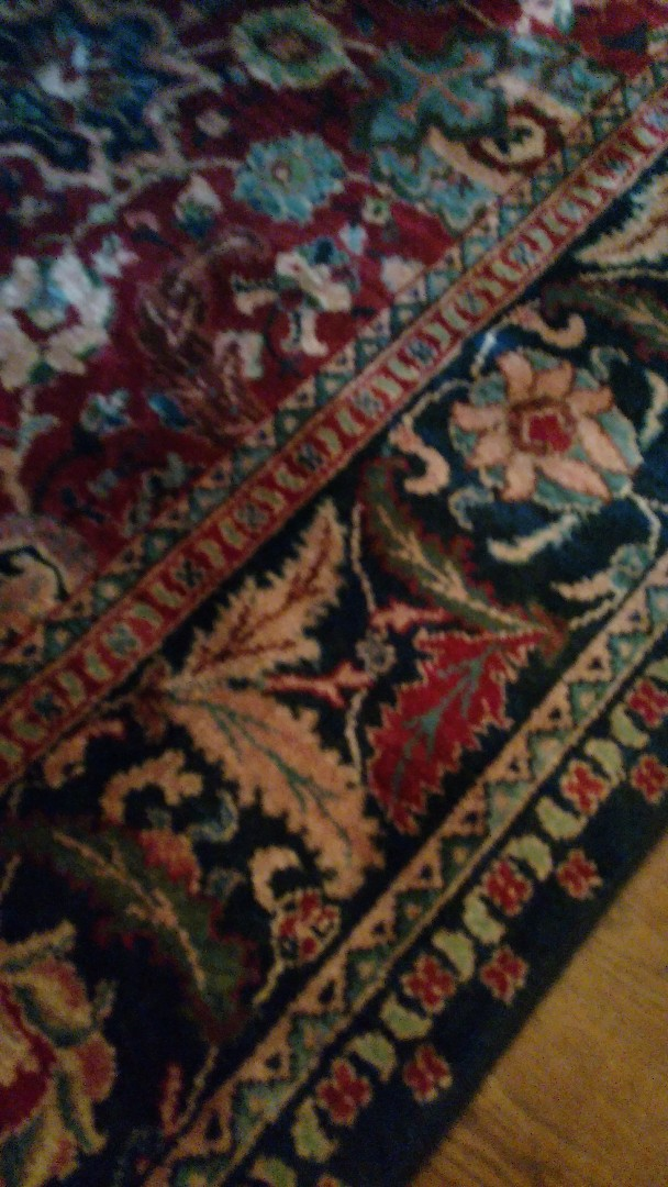 Richmond, VA - 23 year old area rug never cleaned looks amazing!!!