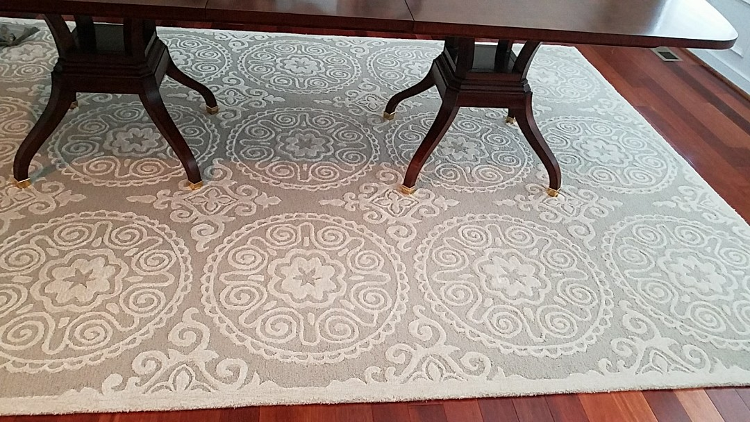 Richmond, VA - Yet another beautiful Oriental rug that looks and smells a whole lot better. Cat smell is all gone!