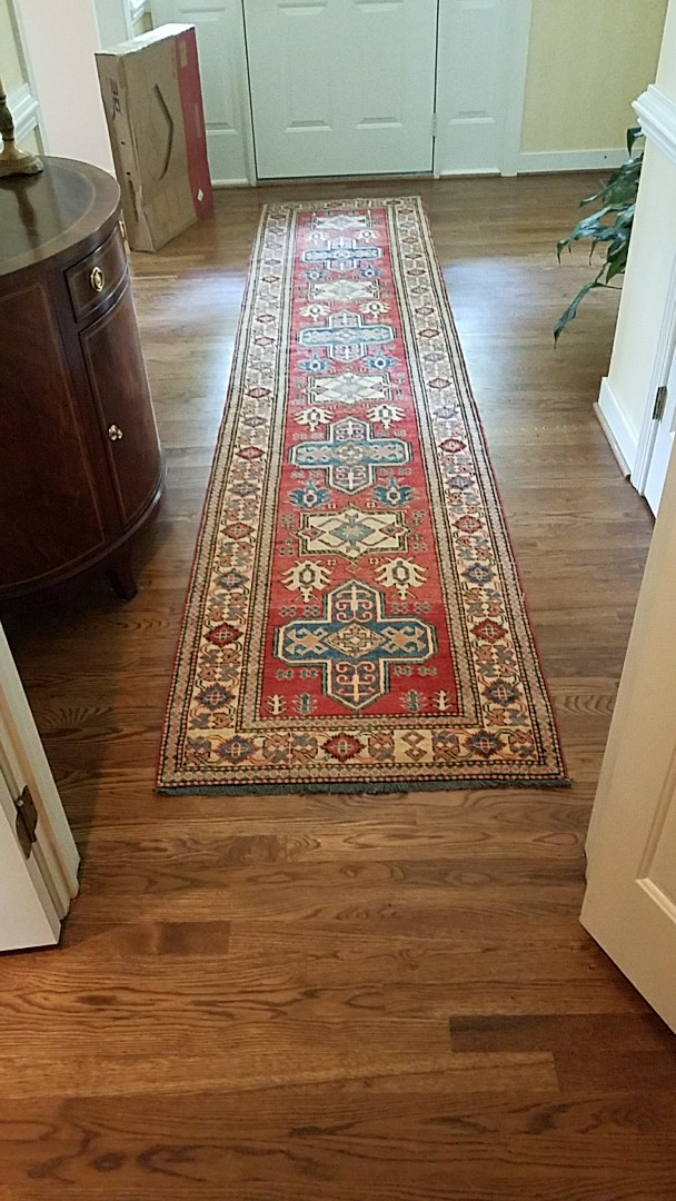 Richmond, VA   This Oriental Rug Is Literally Shining After A Good Cleaning!