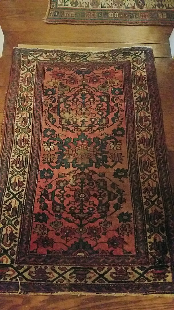 Richmond, VA - Just finished what was an old dingy looking Oriental rug. Looks great now!
