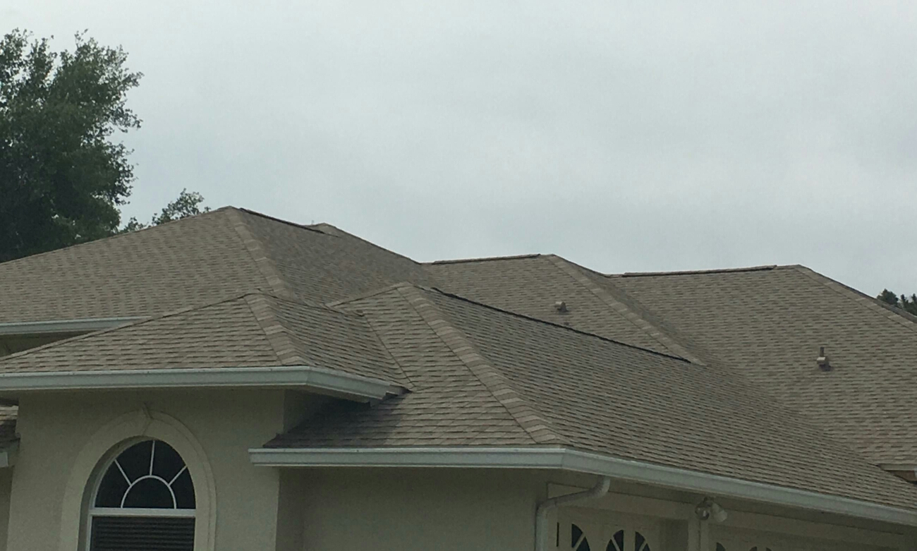 Tarpon Springs, FL - Here is a GAF shingle roof installed in Tarpon Springs by Arry's Roofing.