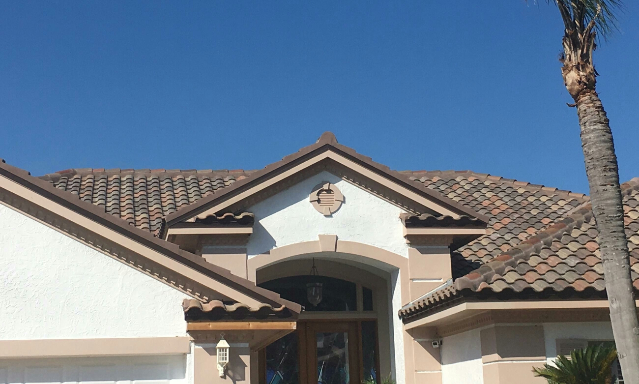 Tampa, FL - Arry's Roofing  just installed this beautiful Eagle tile roof in Tampa.