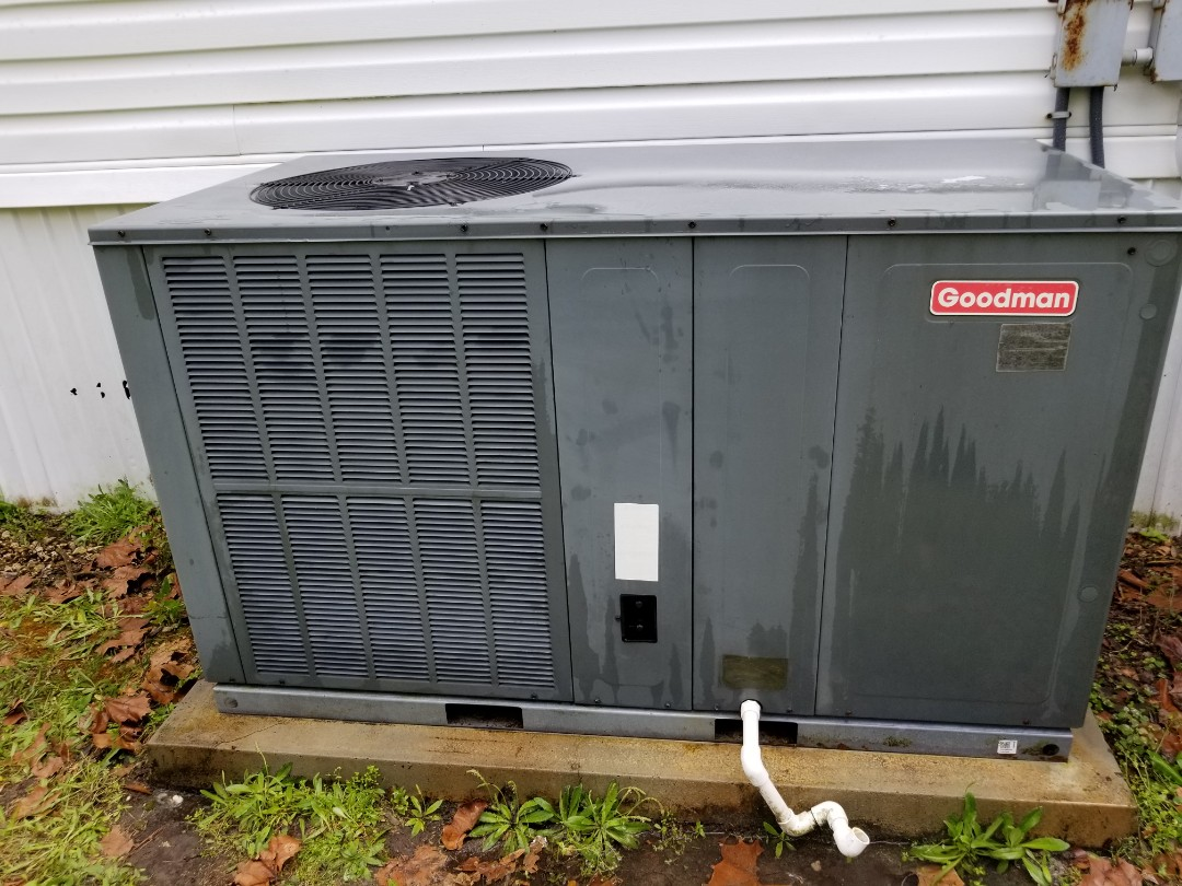 High Springs, FL - Did maintenance on 8 year old Goodman packaging unit