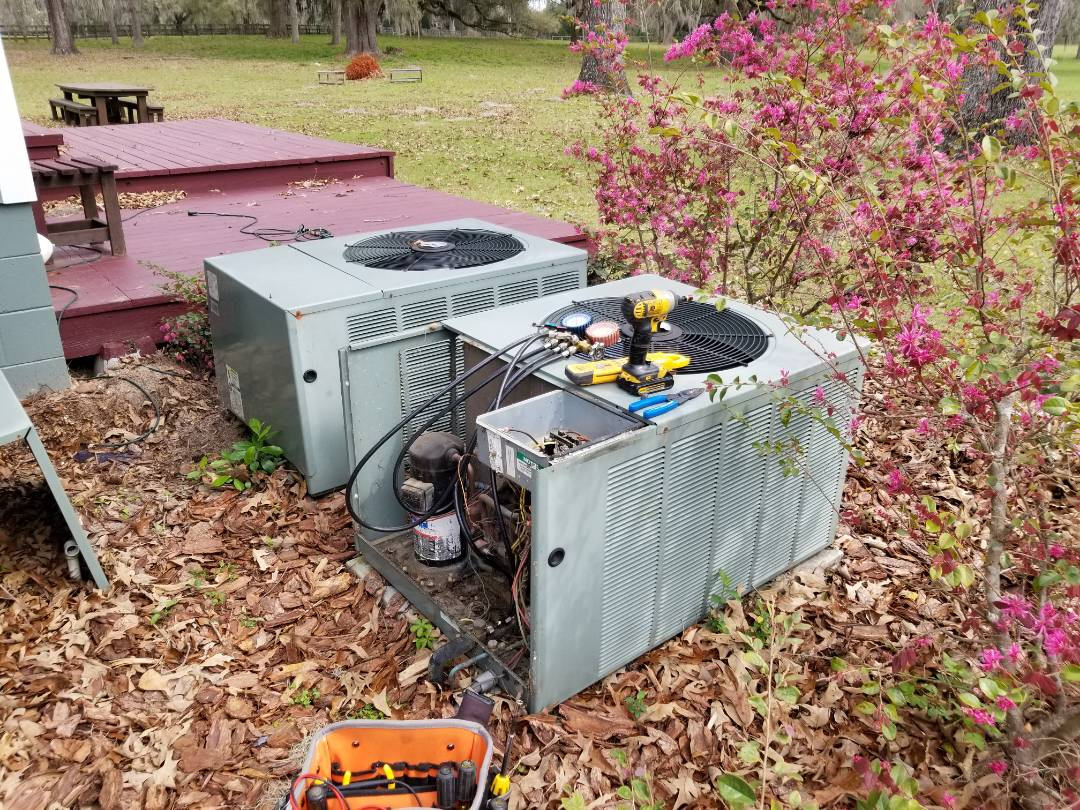 High Springs, FL - Did diagnostics on 14 year old rheem system