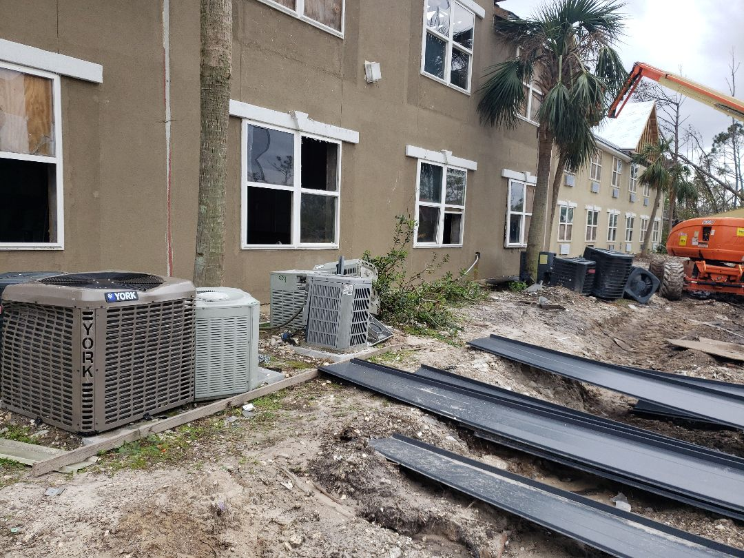 Panama City, FL - Free estimate on commercial duct and AC