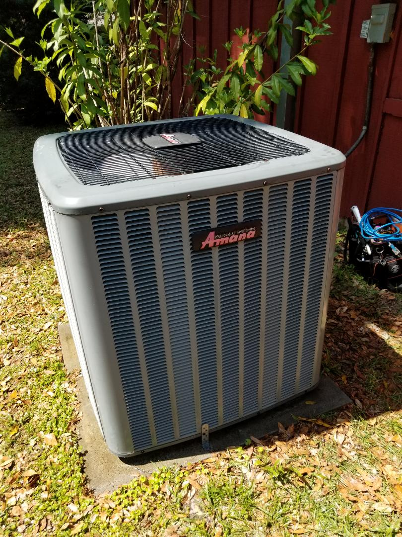 Gainesville, FL - Did maintenance on 10yr old Amana system