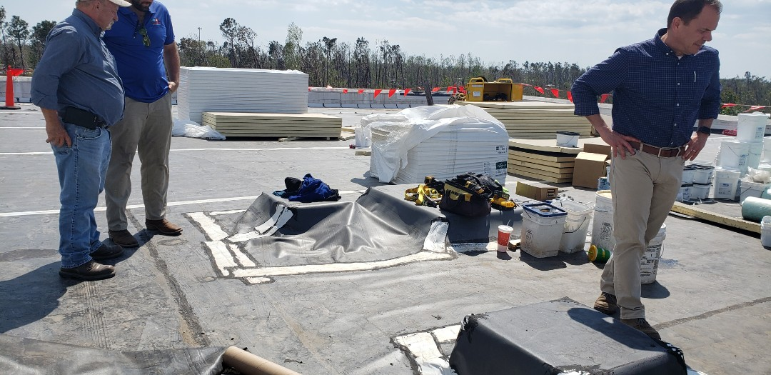 Panama City, FL - Giving an estimate for a 25 ton rooftop unit