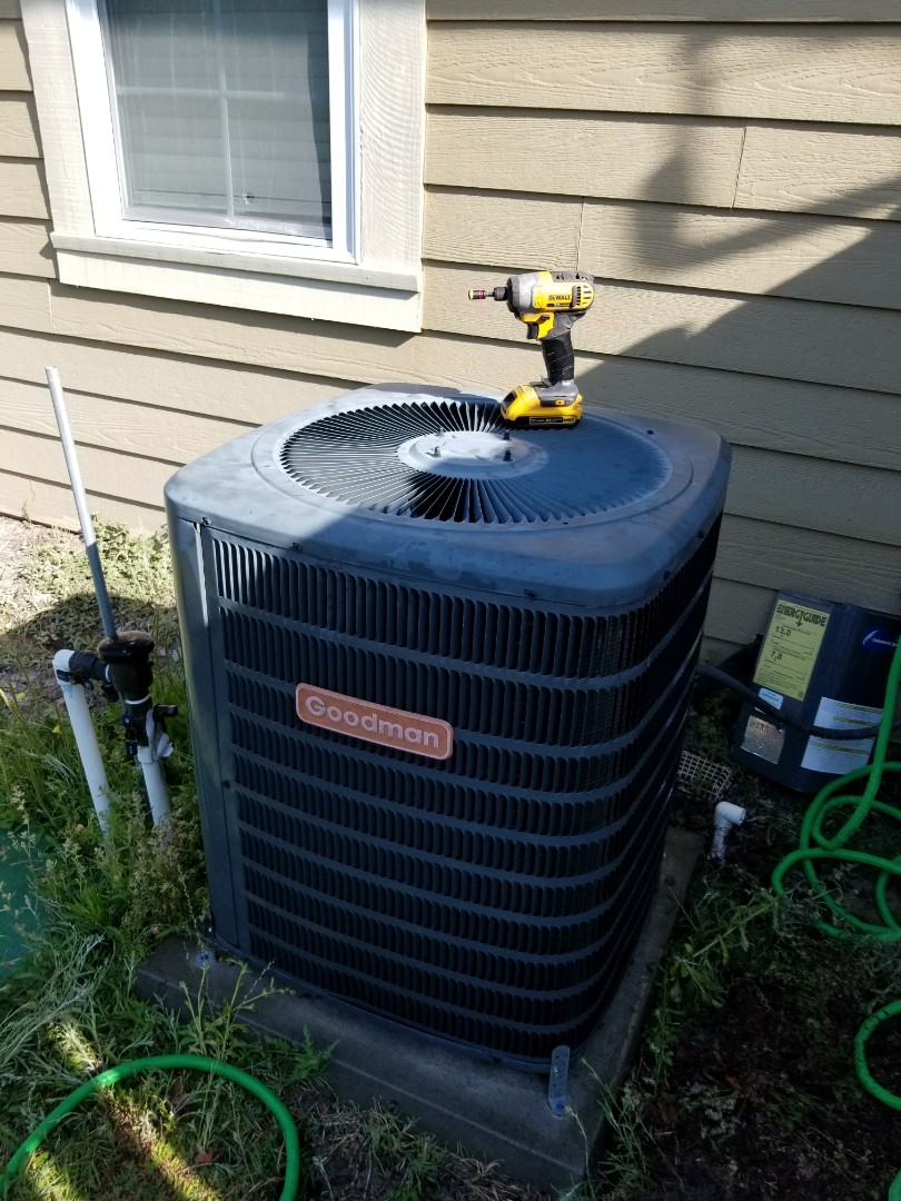 Alachua, FL - Did maintenance on 5 and a 1/2 year old Goodman system