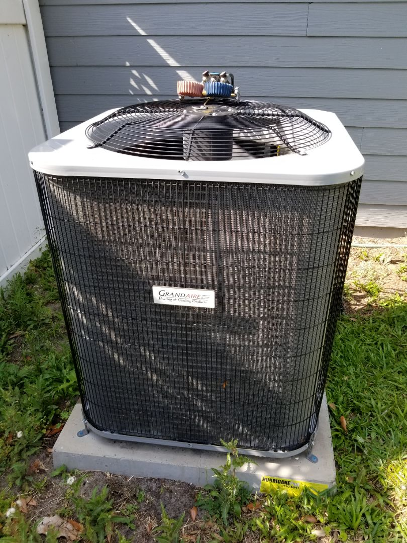 Newberry, FL - Trip and diagnostic on one year old grand air system