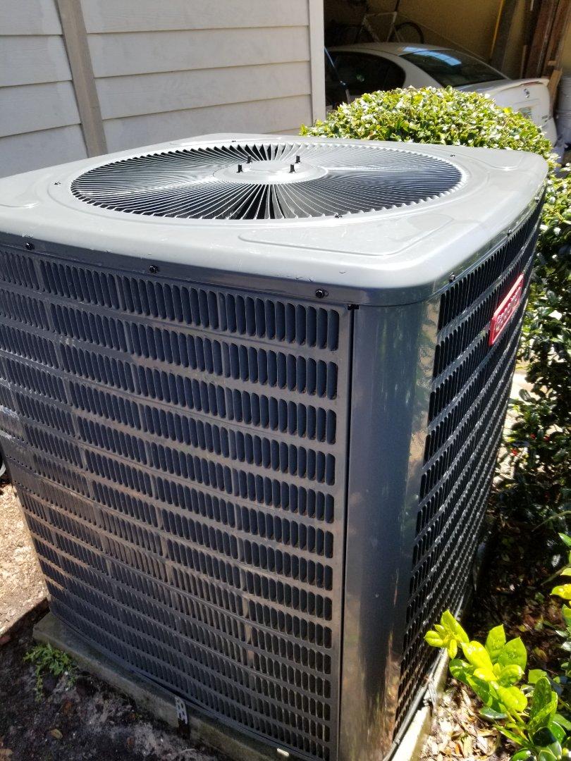 Gainesville, FL - Did maintenance on 1.5yr old Goodman system