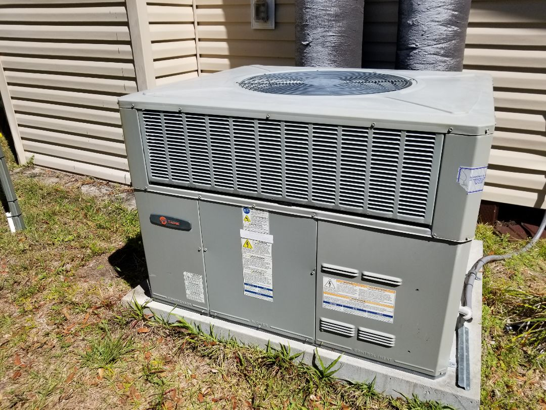 Branford, FL - Came out did repair on 7yr old trane package unit