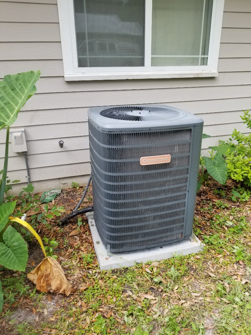 High Springs, FL - Did maintenance on 6yr old Goodman system