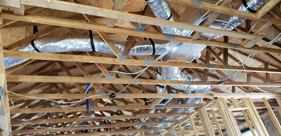 Panama City, FL - New duct in a remodel