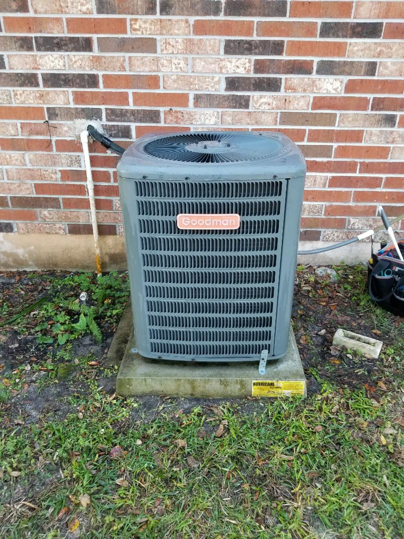 Keystone Heights, FL - Did maintenance on 6yr old Goodman system