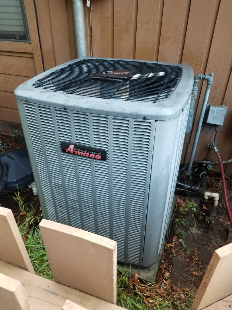 Gainesville, FL - Did maintenance on 10yr old Amana system installed Air scrubber