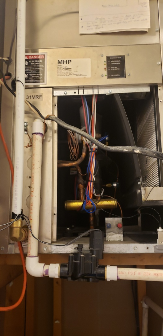 Panama City, FL - Diagnostic of an AC leaking water in Lynn Haven, Fl.