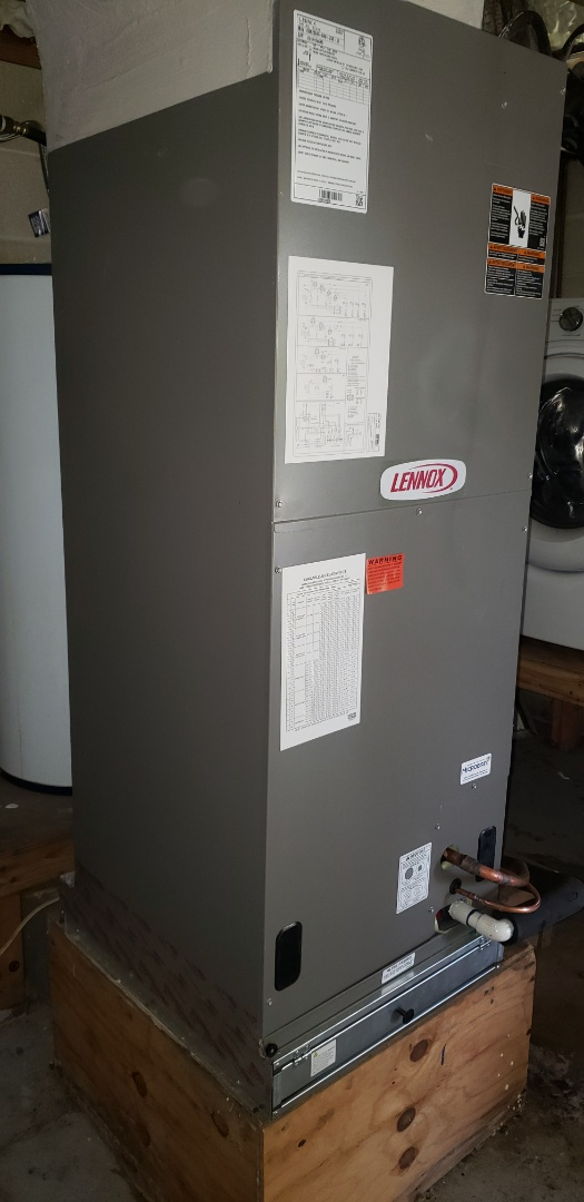 Panama City, FL - New Lennox Air Conditioner install on a remodel in Panama City, Fl.