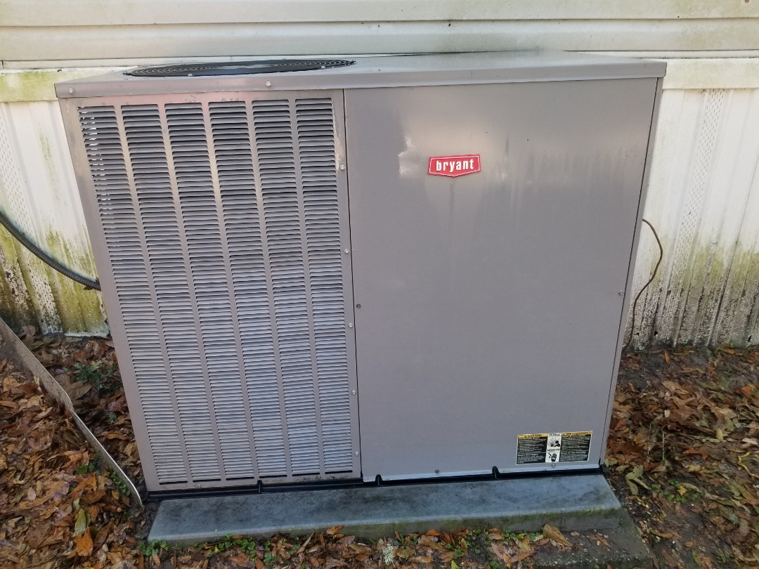 Lake City, FL - Did maintenance on 5yr old Bryant package unit