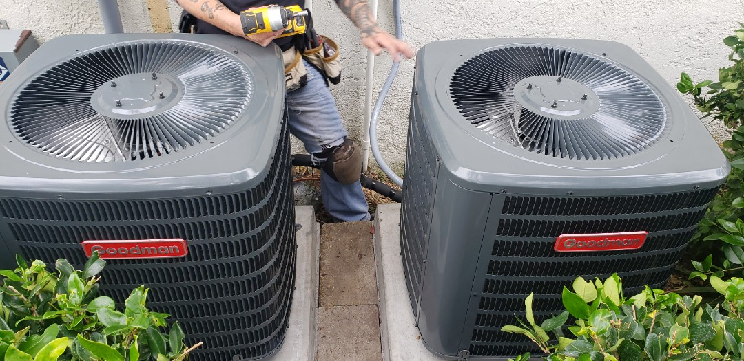 Panama City, FL - New Air Conditioning install in Panama City, Fl. Replaced 2 systems.