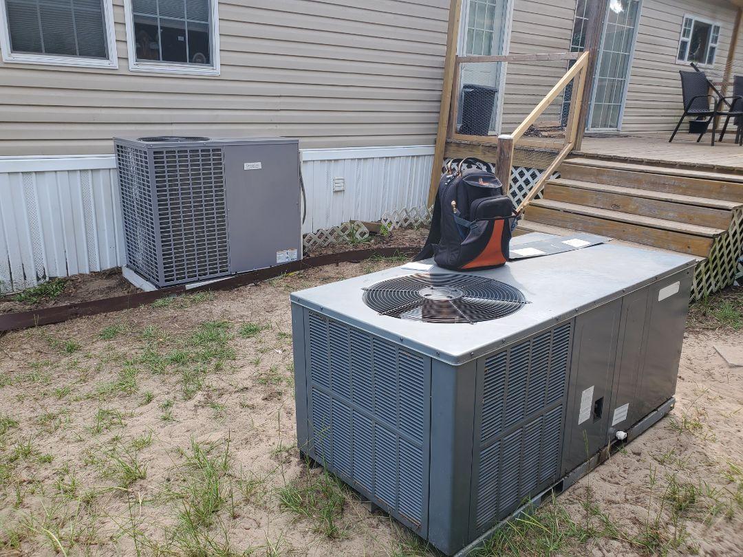 Change out heat pump.