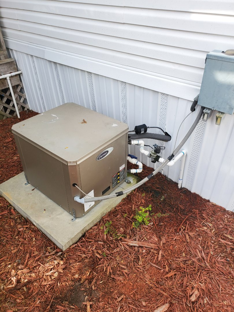 Archer, FL - Geothermal valve replacement on water to air ac system carrier