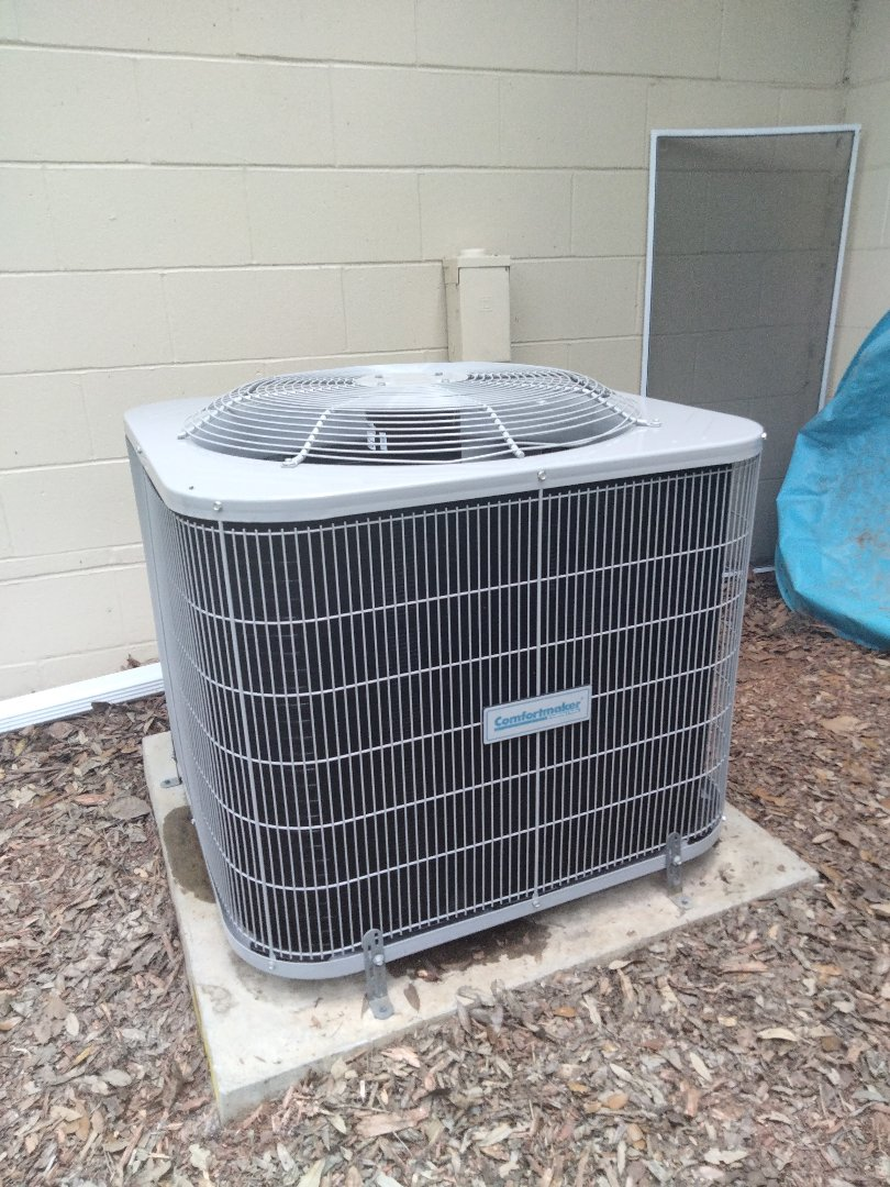 Gainesville, FL - Changed out compressor unit