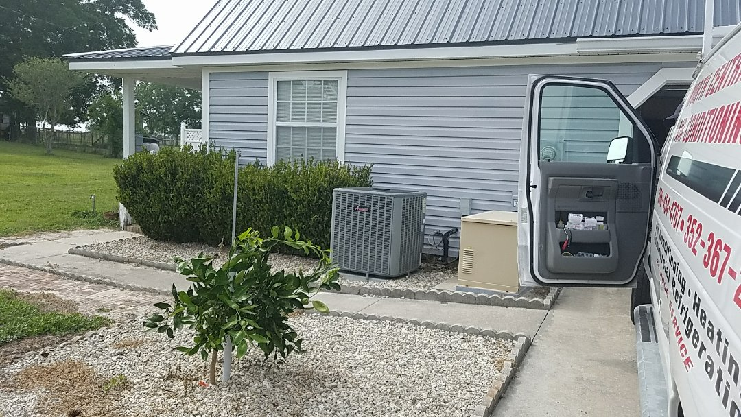 Lake Butler, FL - Performing a seasonal clean and tune up on an air conditioning system
