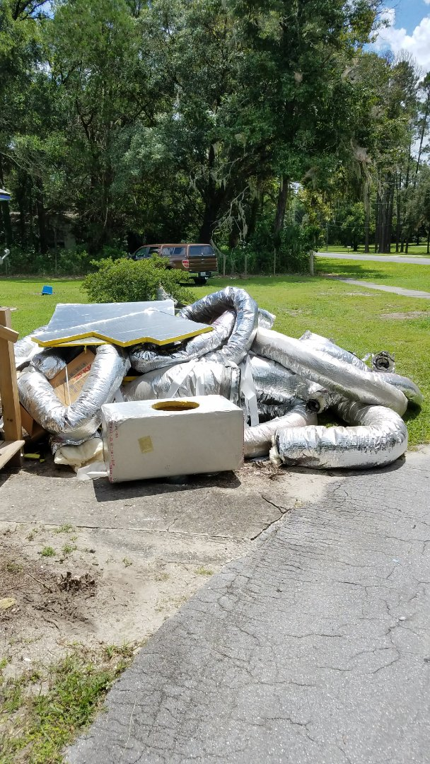 Bronson, FL - Time for new duct work.