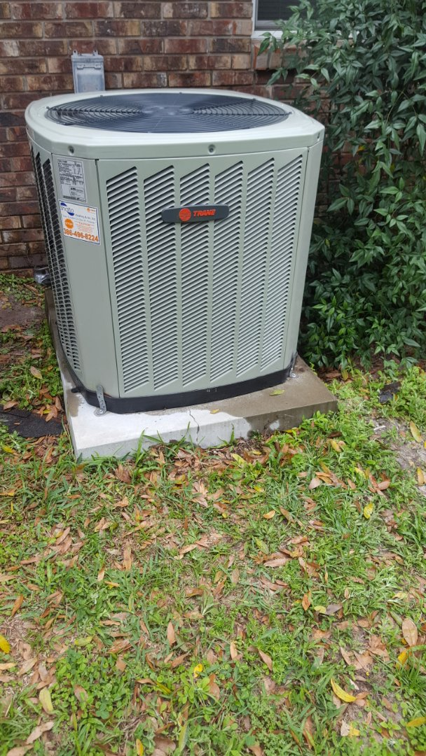 Lake City, FL - Doing maintenance on 3 year old Trane heat pump