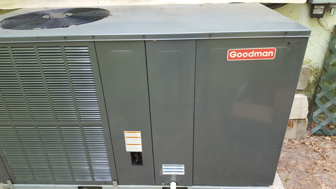 Alachua, FL - Came back out to install whole house UV turbo cap and start assist on Goodman package unit
