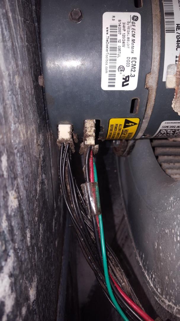 Williston, FL - Installed whole house UV on 6 year old Goodman system on maintenance