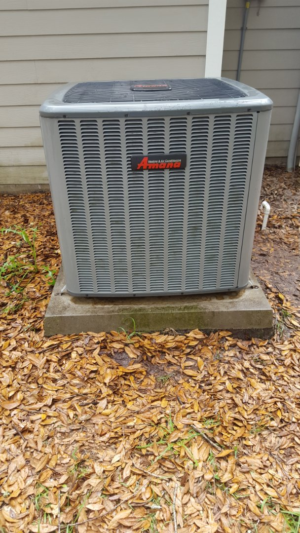 Alachua, FL - Installed turbo cap on 6 year old Amana system on maintenance