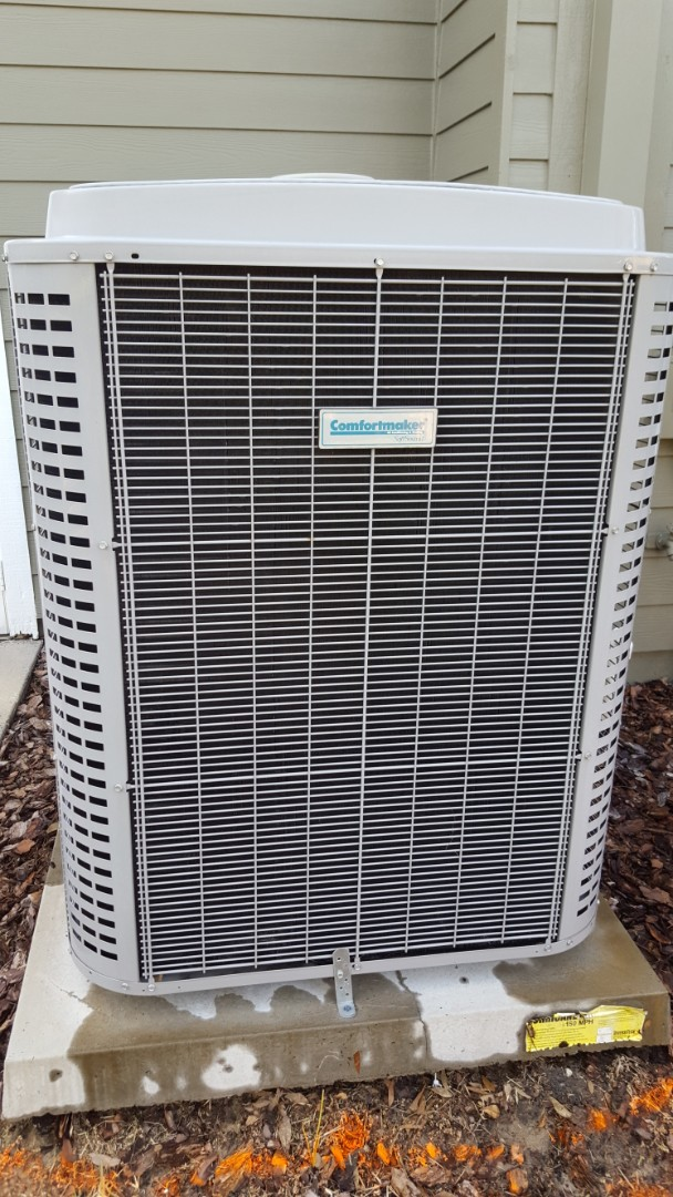 Alachua, FL - Did maintenance on two-year-old Comfortmaker system along with dryer vent cleaning
