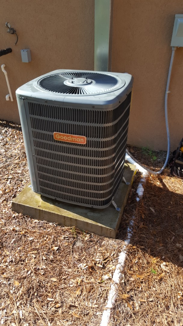 Williston, FL - Came back out to put warranty capacitor into your old Goodman system