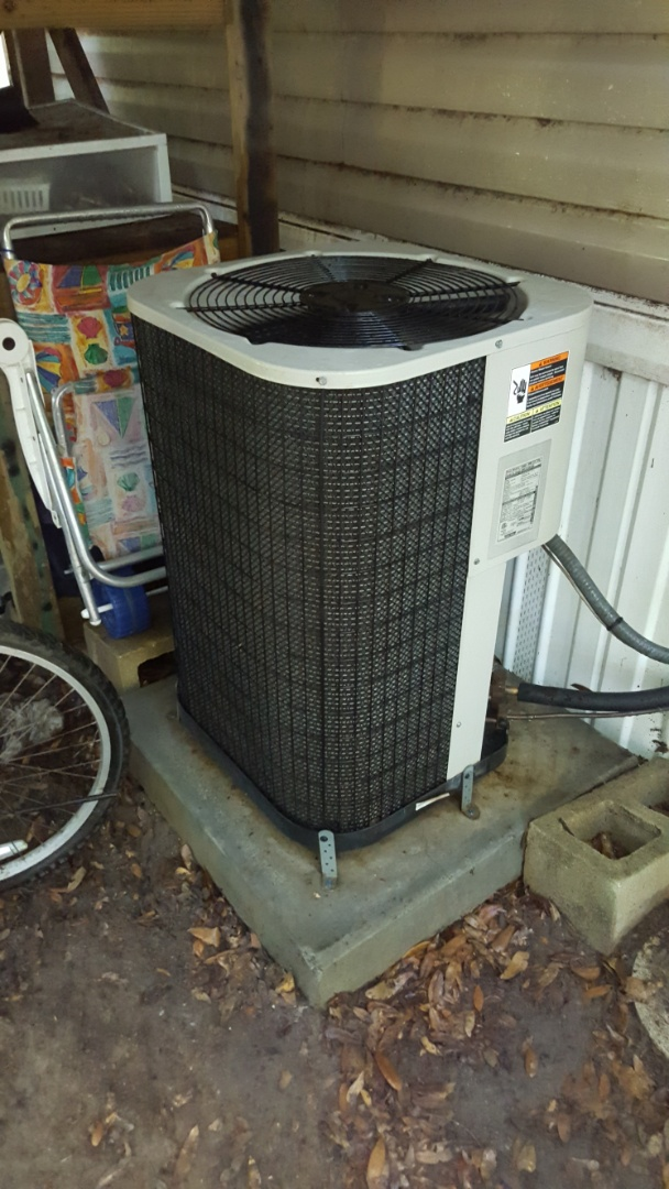 Williston, FL - Did maintenance on five-year-old Nordyne system