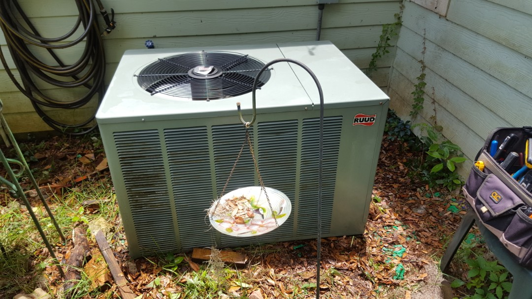Williston, FL - Did maintenance on 9 year old Rheem system