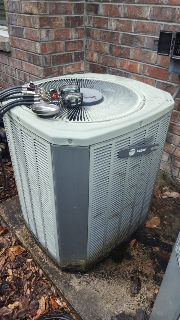 Williston, FL - Doing diagnostic on 21yr old trane system