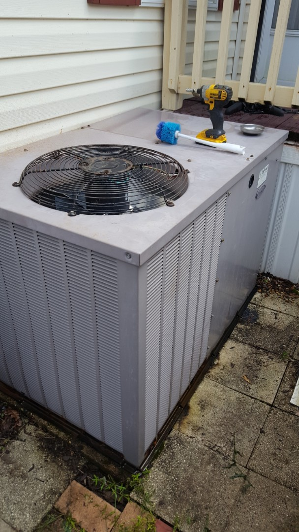Williston, FL - Did maintenance on 18 year old carrier package unit