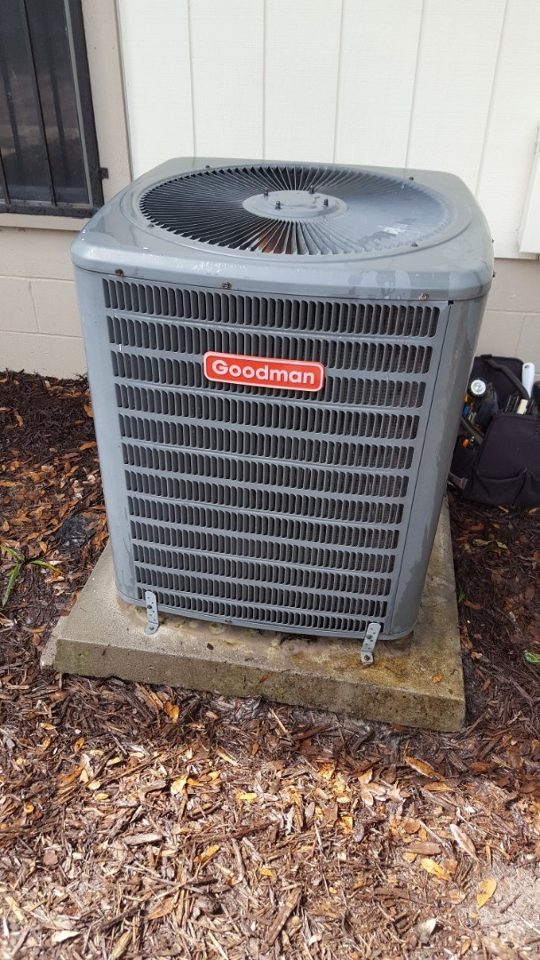 High Springs, FL - Installed turbo cap on three-year-old Goodman during diagnostic