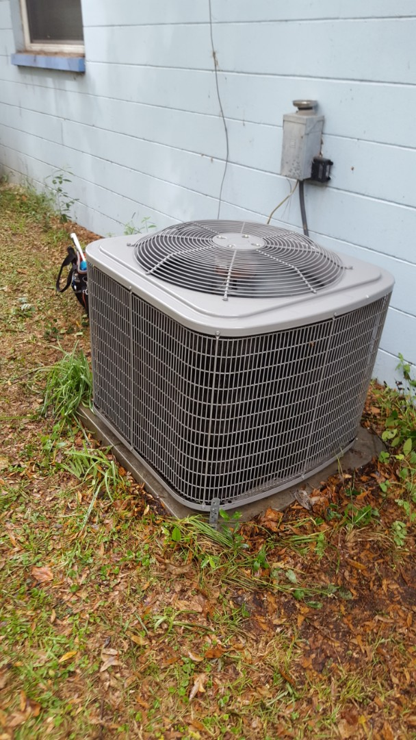 Newberry, FL - Did maintenance on 11 year old carrier system
