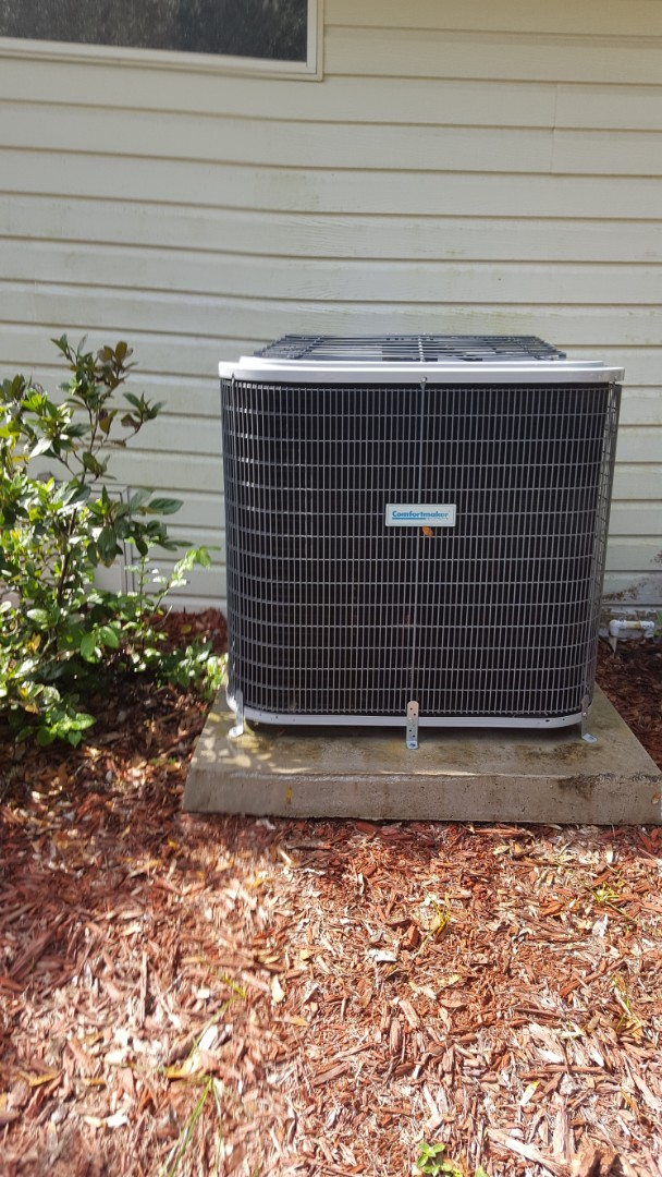 Williston, FL - Did maintenance on two-year-old Comfortmaker system installed turbo cap