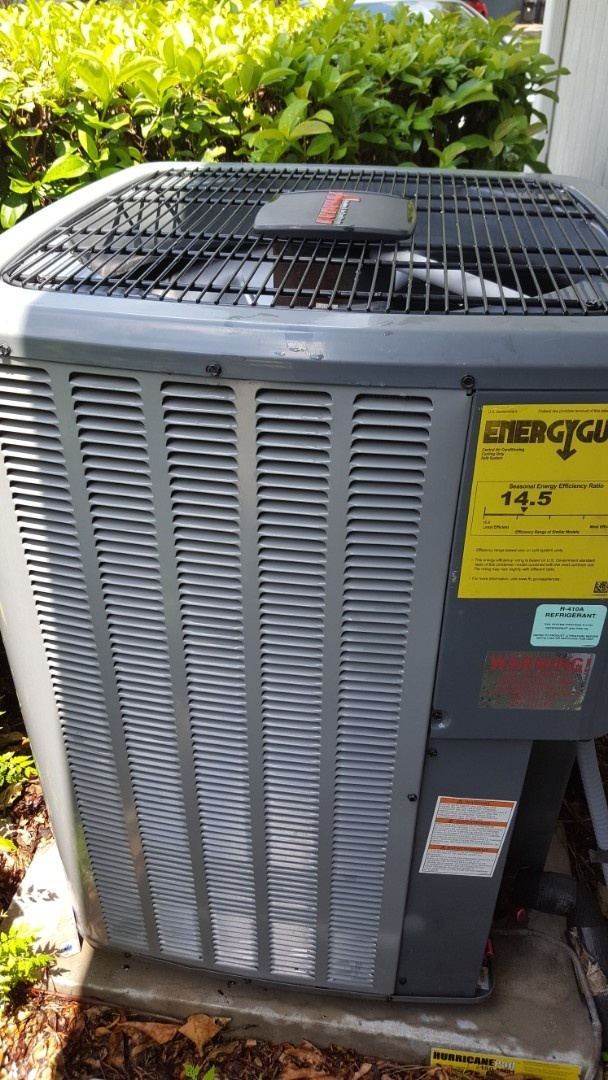 Alachua, FL - Installed turbo cap on 9 year old Amana system during maintenance