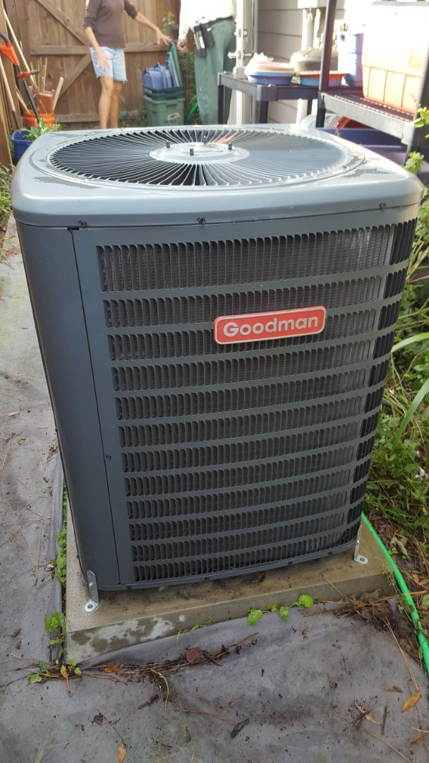 Gainesville, FL - Did maintenance on 11 year old Goodman system
