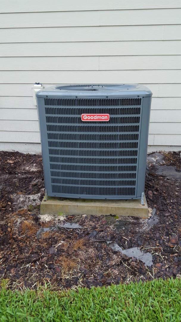 Gainesville, FL - Did maintenance on 12 year old Goodman system
