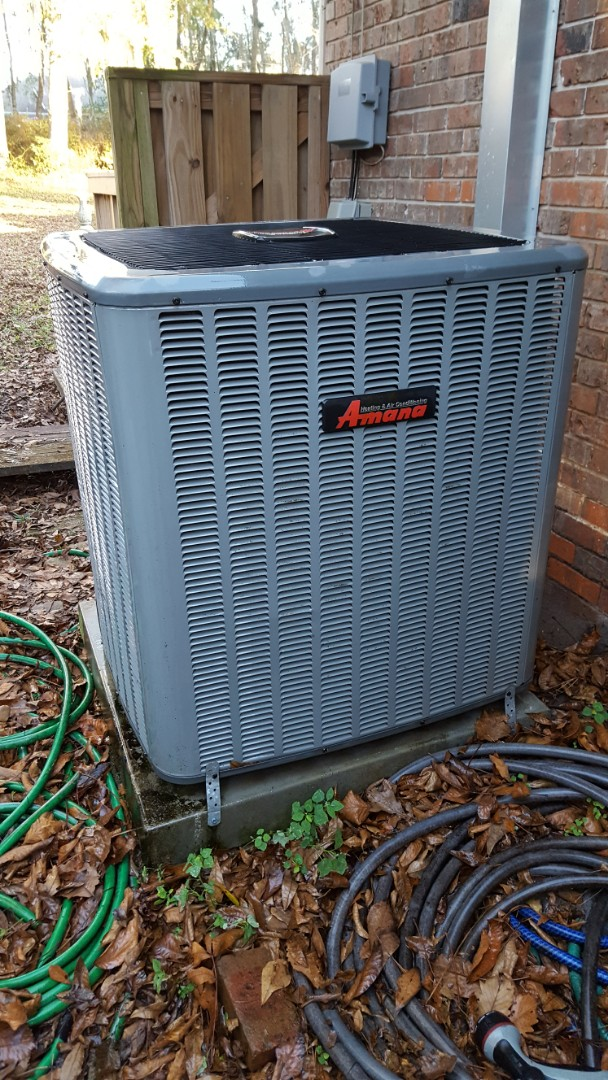 Newberry, FL - Did maintenance on 10 year old Amana system
